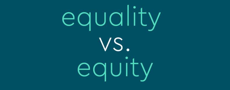 В чем разница между «равенством» и «справедливостью»?